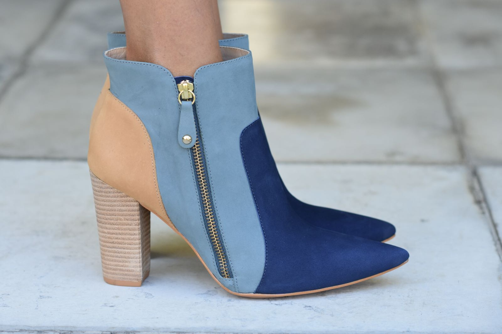 Botas Degradé Azul